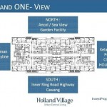 Floor Plan Holland Village Apartemen Tower 1