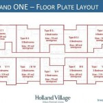 Floor Plan Holland Village Tower 1