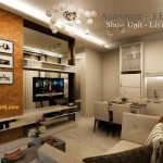 Design Living Room Landmark Residence 2 BR