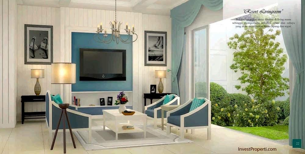 Resort Livingroom Whitsand Grenwich Park