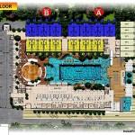 site plan ground floor swiss belhotel kuta bali