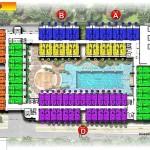 site plan lantai 3 swiss belhotel kuta bali