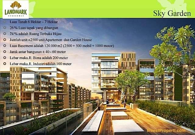 Sky Garden Apartemen Landmark Residence
