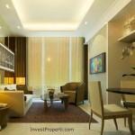 Contoh Design Living Bedroom Apartemen St Moritz Makassar