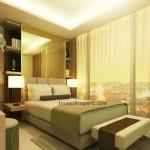 Contoh Design Master Bedroom Apartemen St Moritz Makassar
