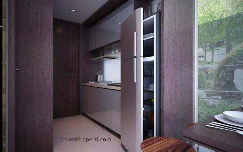 Contoh Interior Design St Moritz Makassar Apartemen Deluxe-Suite Dapur
