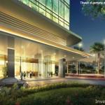 St Moritz Makassar Apartment Lobby