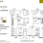 St Moritz Makassar Apartment Premium Suite Tipe M-3A