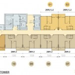 Floor Plan Skyline Apartemen Cawang East Tower