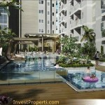 Swimming Pool Skyline Residence @ Cawang
