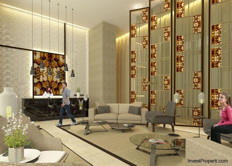 lobby Puri Mansion Apartment
