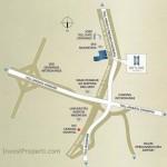 Peta Lokasi Skyline Residence Apartment Cawang