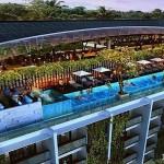 Roof Top Swimming Pool Meritus Seminyak