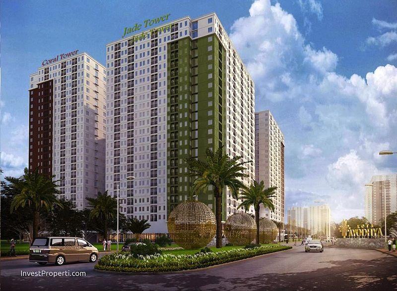 Apartemen Kota Ayodhya Tower Jade dan Coral