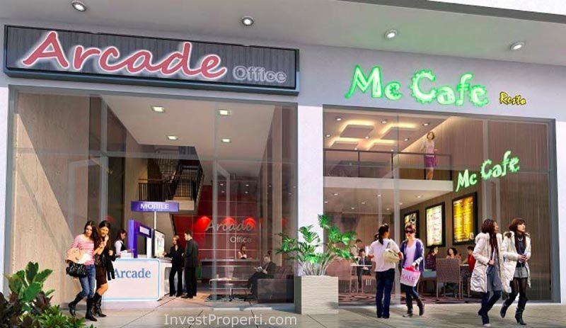 Contoh Design Ruko Grand Arcade Citra Raya