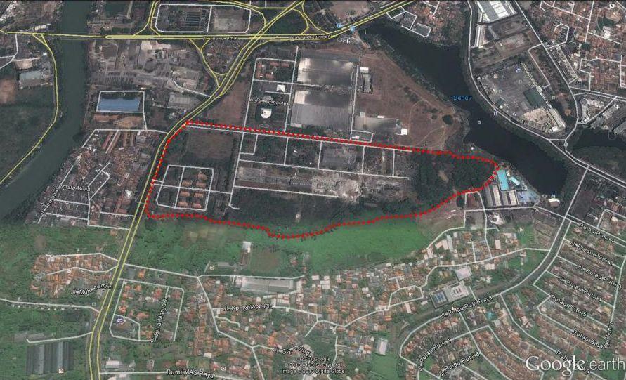 Peta Lokasi Kota Ayodhya Apartemen Tangerang by Alam Sutera
