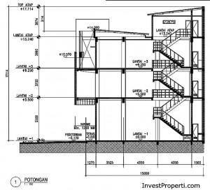 Unit Plan Ruko Grand Arcade Citra Raya
