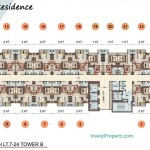 Vittoria Residence Floor Plan Lt 7-24 Tower B