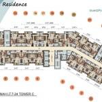 Vittoria Residence Floor Plan Lt 7-24 Tower C