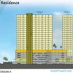 Vittoria Residence Floor Plan Tampang Samping