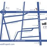 Peta Lokasi ITS Office Tower Jakarta