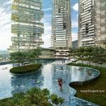 Kolam Renang K2 Park Apartment Serpong