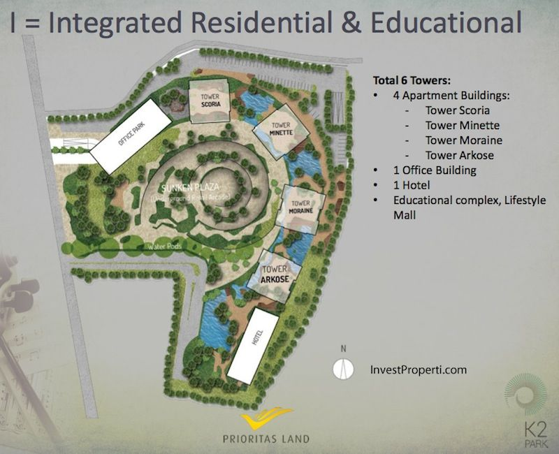 Master Plan K2 Park Gading Serpong
