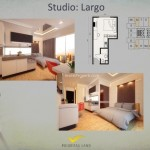 Tipe Studio Largo Apartemen K2 Park Gading Serpong