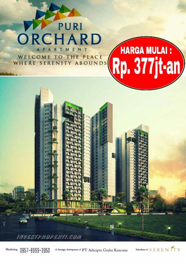 Brosur Puri Orchard Apartment