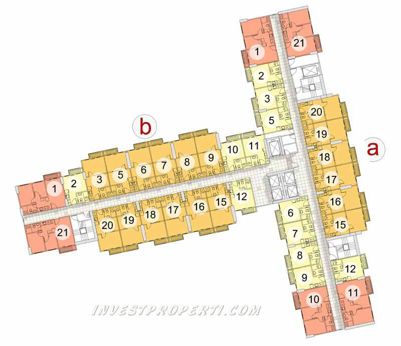 Floor Plan Puri Orchard Tower Cedar Height