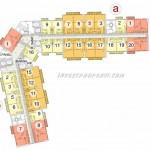 Floor Plan Puri Orchard Tower Orange Groove