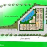 Site Plan Apartemen Park Avenue BSD