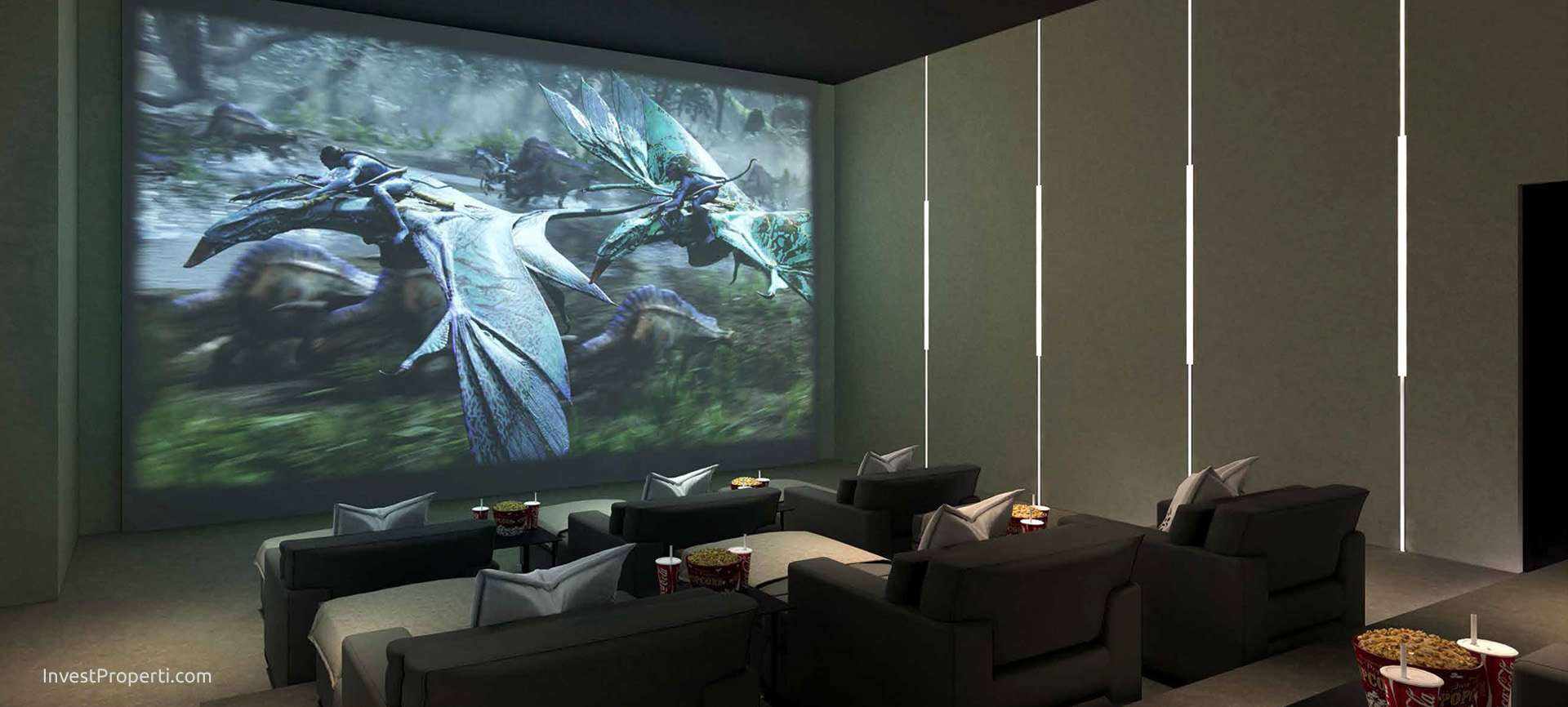 Wang Residence Movie Room