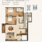Wang Residence Unit 2BR Upperhouse F-I