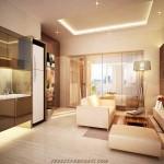 interior design 1 bed Puri Orchard Apartment
