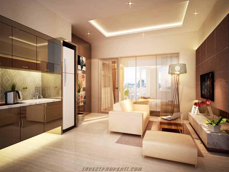 Interior Design Bed Puri Orchard Apartment