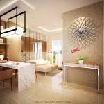 interior design 2 bed Puri Orchard Apartment