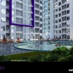 Kolam Renang Apartemen Indigo Bekasi