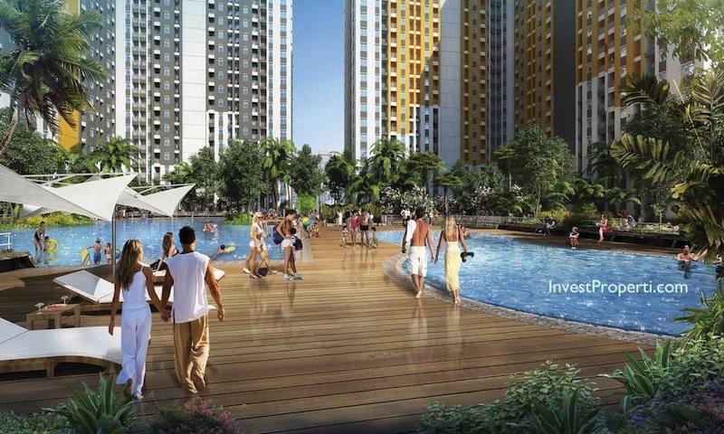 Kolam Renang Apartemen Spring Lake Summarecon Bekasi