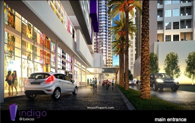 Main Entrance Indigo Bekasi Apartment