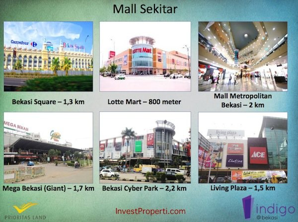 Mall Sekitar Indigo Bekasi