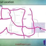 Peta Lokasi Indigo Apartemen Bekasi