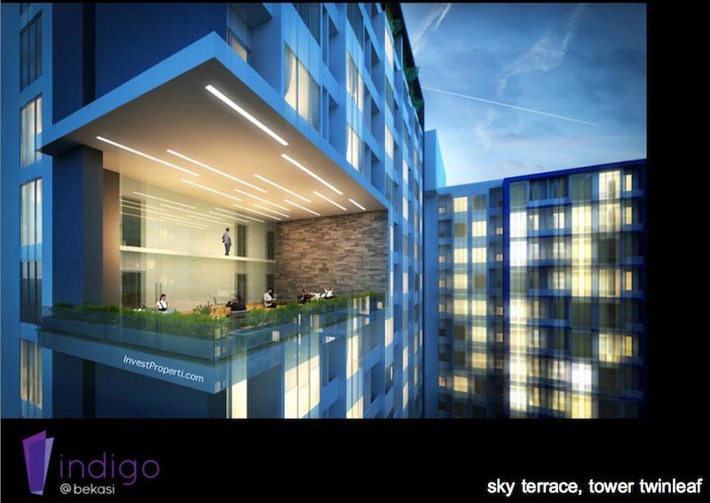 Sky Terrance Tower Twinleaf Indigo Bekasi