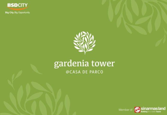 Brosur Gardenia Tower