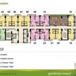 Floor Plan Tower Gardenia Lt 29