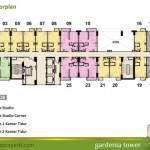 Floor Plan Tower Gardenia Lt 30