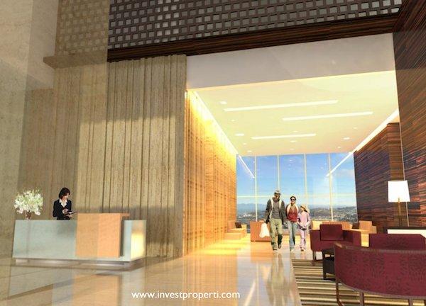 Lobby Apartemen Tuscany