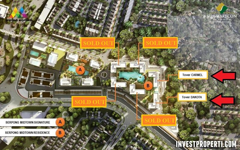 Serpong Midtown Residence Apartment Tahap 2