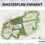 Master Plan Perumahan Eminent BSD City