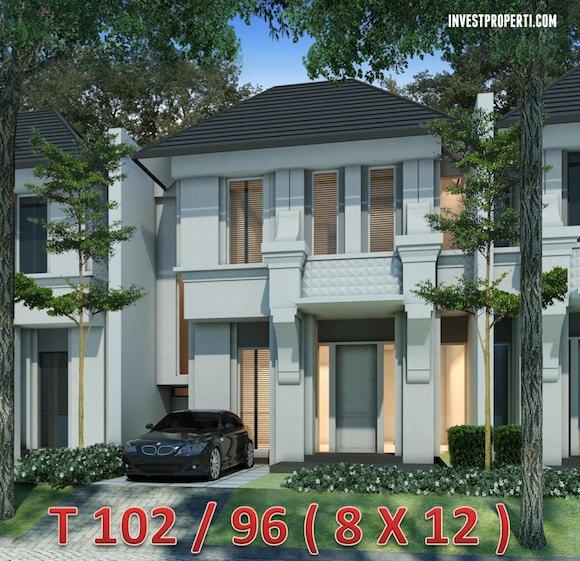 Rumah Cluster Vivacia Tipe 96